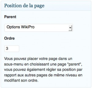 Organisation des pages web