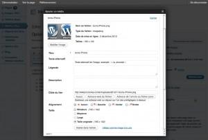 Insertion des images sur une page web